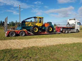 Forstmaschinen Transport