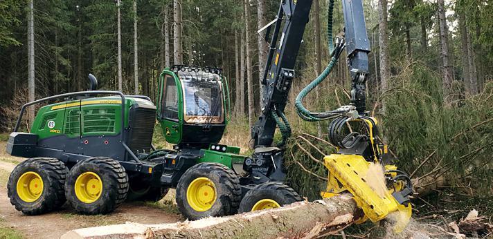 Holzschlägerung